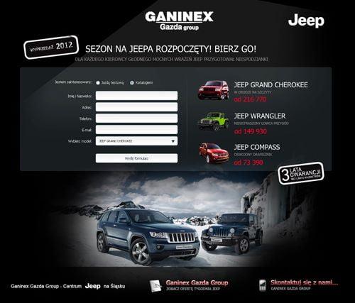 Ganinex - Landing Page