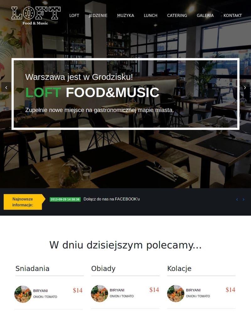 Restauracja LOFT