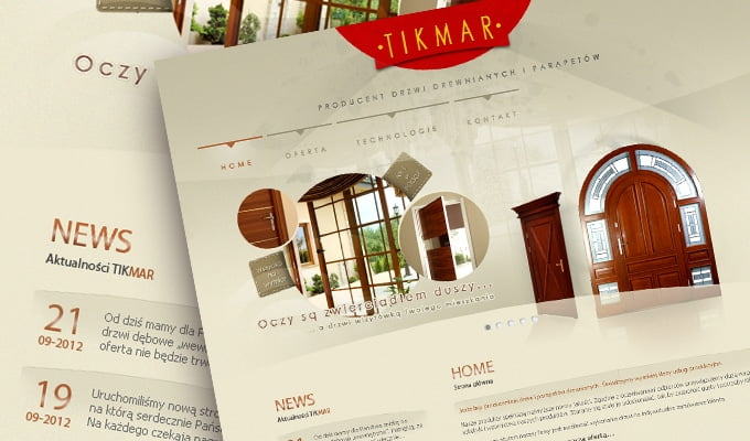 Tikmar - producent drzwi
