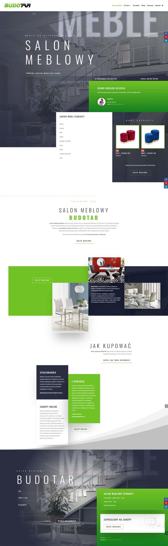 Salon Meblowy - Strona WWW + Sklep