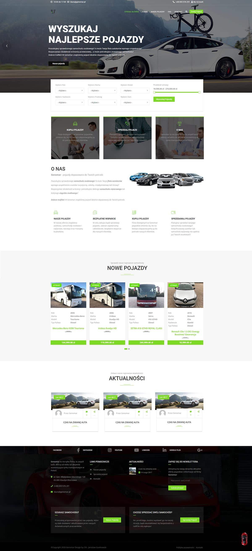 Strona WWW - Komis samochodowy Warszawa