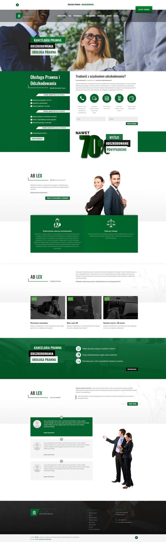 Strona internetowa - Kancelaria ABLex